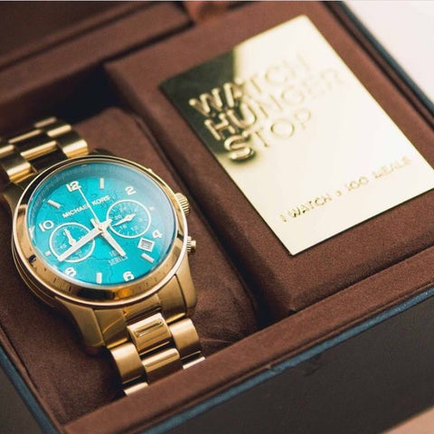 TSW MK AAA Gold Tone Watch