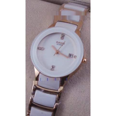 Rado Jublie DaiStar Ladies White Dial Quartz Watch