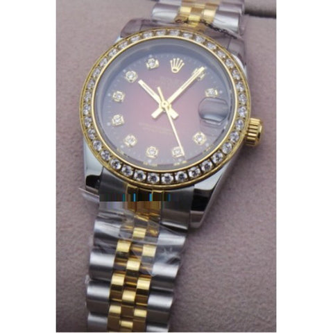 Rolex DATE - JUST LADY RED Quartz Ladies Watch