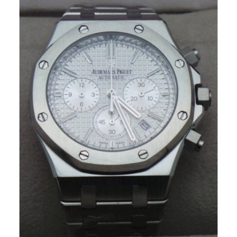 Audemars Piguet Chronometer Steel White Watch