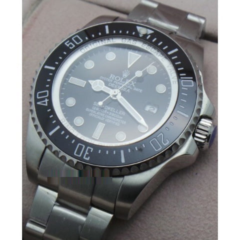 Rolex Deepsea Sea Dweller Swiss ETA 7750 Valjoux Movement Watch