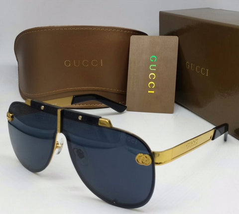 Gucci Metal Frame Round Sunglass