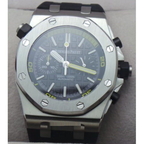 Audemars Piguet Diver Chronograph 2 Steel Black Watch