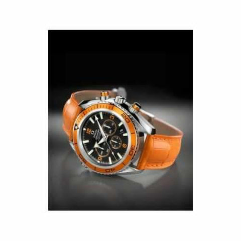 OMEGA SEAMASTER PLANET OCEAN ORANGE LEATHER