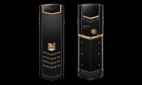 VERTU Signature Red Gold Ultimate Black
