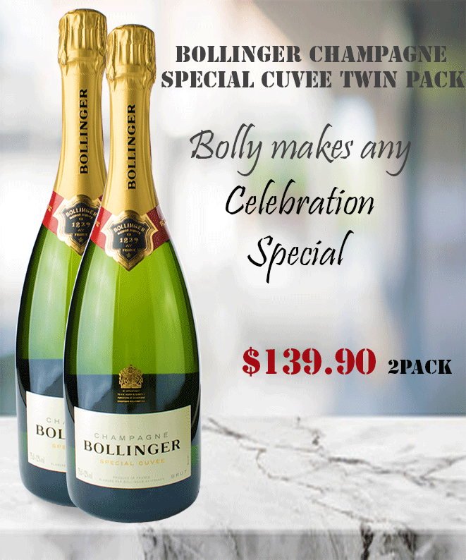 Champagne Bollinger Special Cuvee Winepronto.com.au Twin Pack