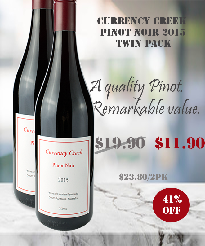 Pinot Noir Red Wine winepronto Twin Pack