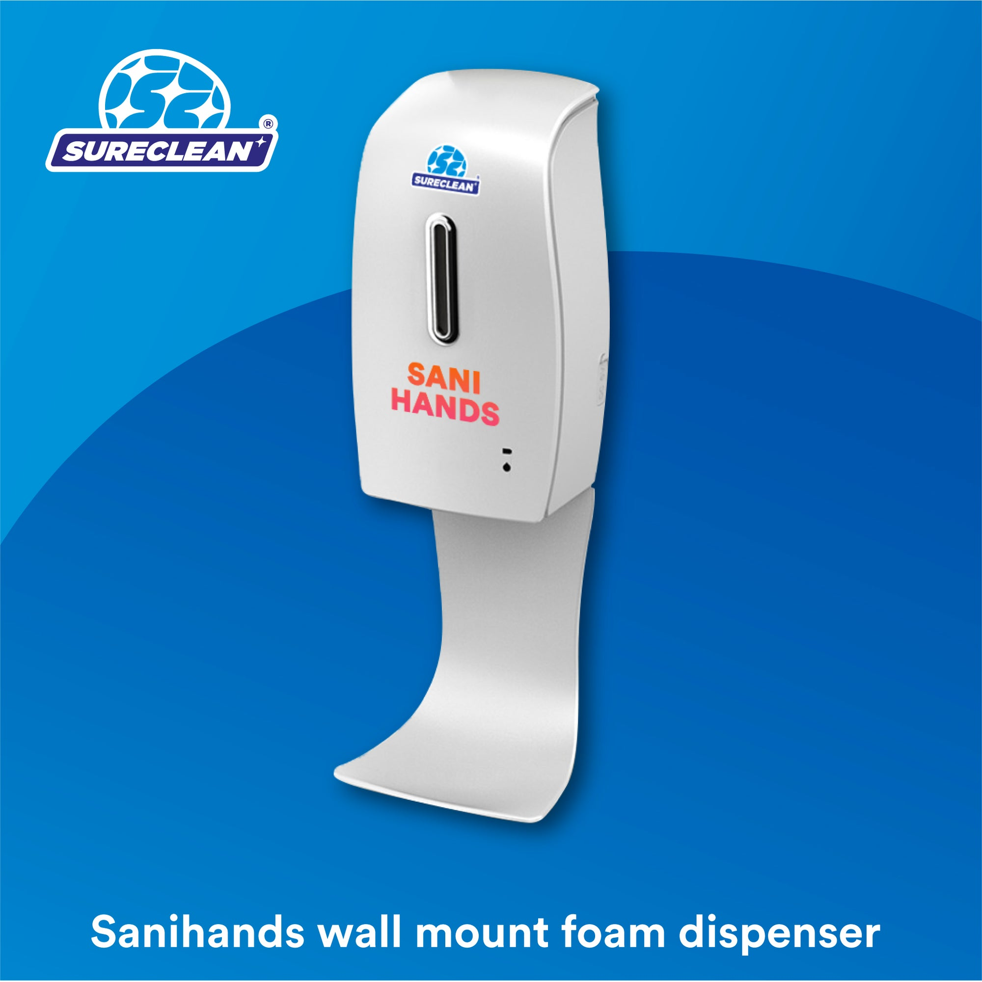 Sanihands Automatic Hand Sanitizer Dispenser (Wall Mount)