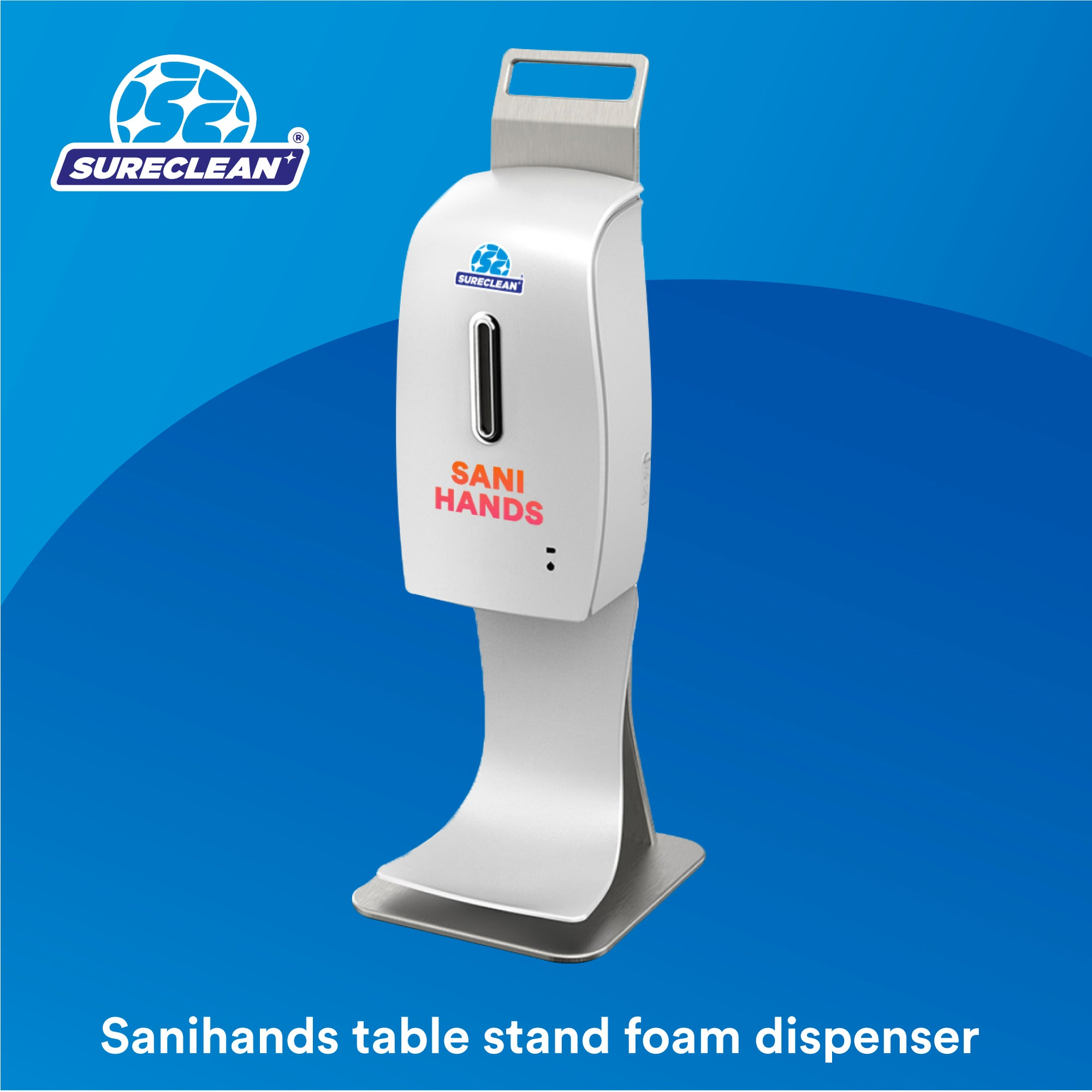 Sanihands Automatic Hand Sanitizer Dispenser (Table Stand)