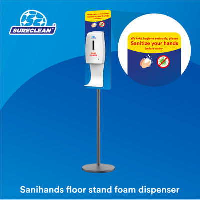Sanihands Automatic Hand Sanitizer Dispenser (Floor Stand)