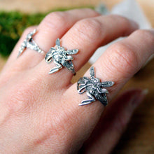 Sterling Silver Forest Fairy Ring