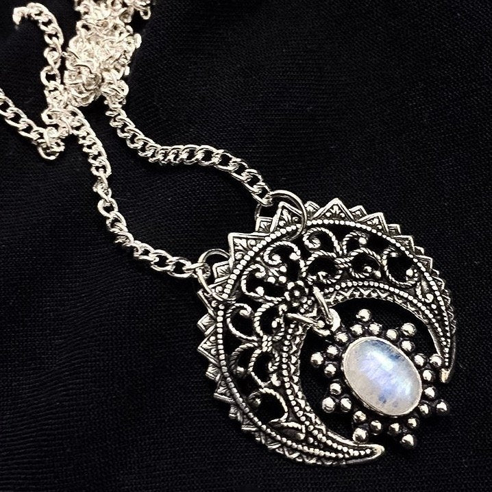 Moon Halo Necklace