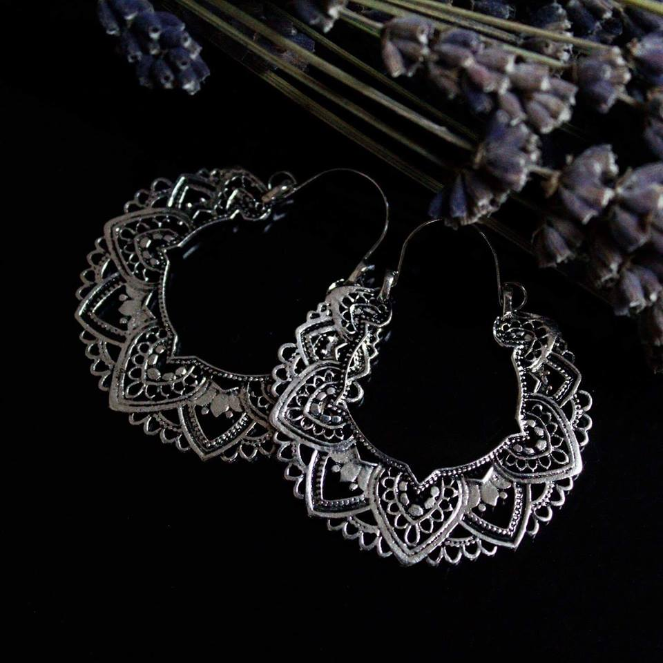 Mandala Sunrise Earrings