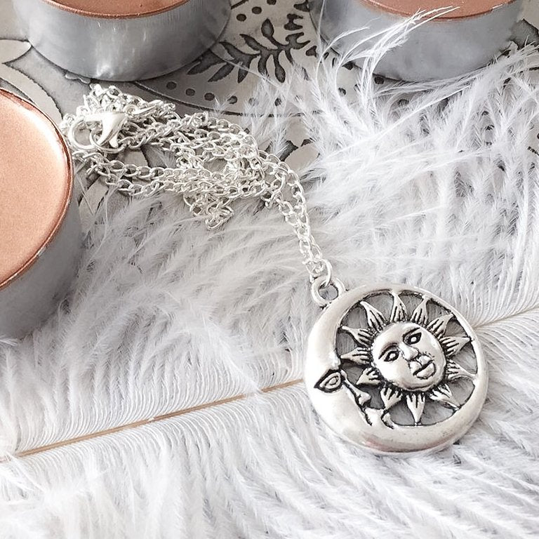 Solar Charm Necklace
