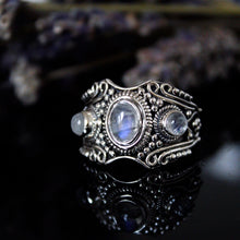 Sterling Silver Ethereal Sky Ring