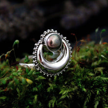 Sterling Silver Moonfire Ring