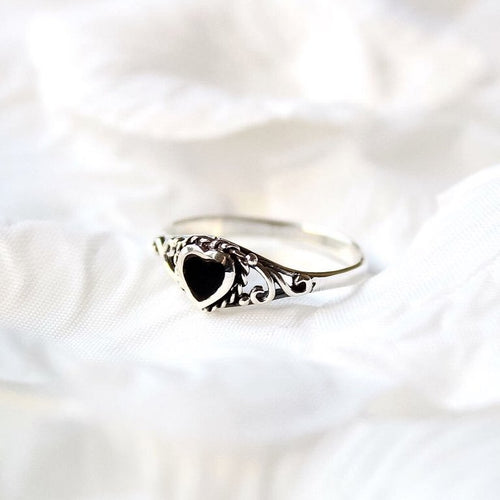 Sterling Silver Love Spell Ring