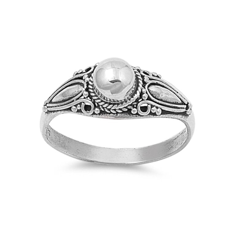 Sterling Silver Oracle Ring