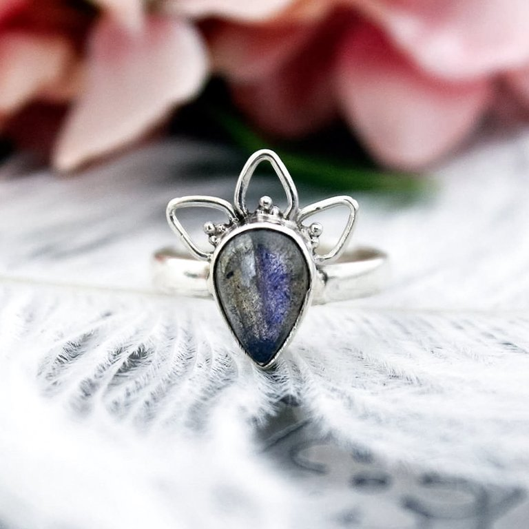 Sterling Silver Rising Dusk Ring