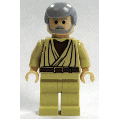 LeGo Star Wars Obi-Wan Kenobi Light Flesh Minifig NEW