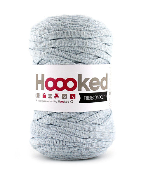 Hoooked Ribbon XL i Powder Blue farver
