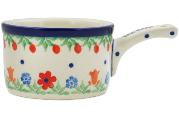 1/2 Cup Measuring Cup in Babcia's Garden pattern 4 oz