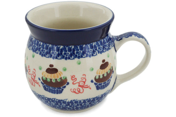 Bubble Mug in Party With Cupcakes pattern 8 oz