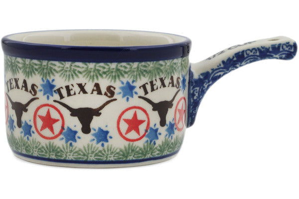 1/2 Cup Measuring Cup in Texas Longhorns pattern 4 oz