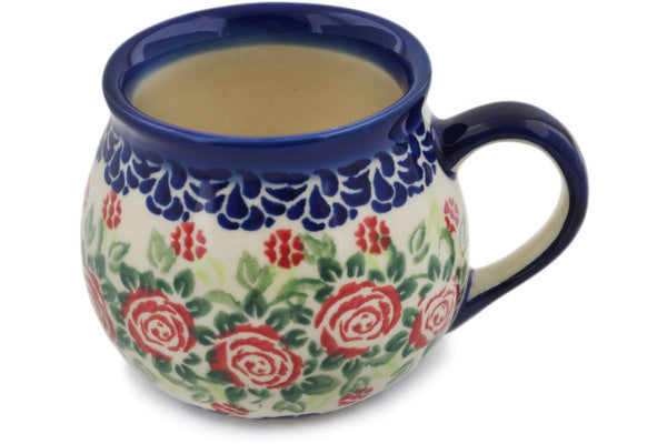Bubble Mug in Texas Field pattern UNIKAT  9 oz