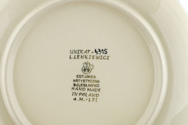 Dessert Plate in Texas Feast pattern UNIKAT  8""