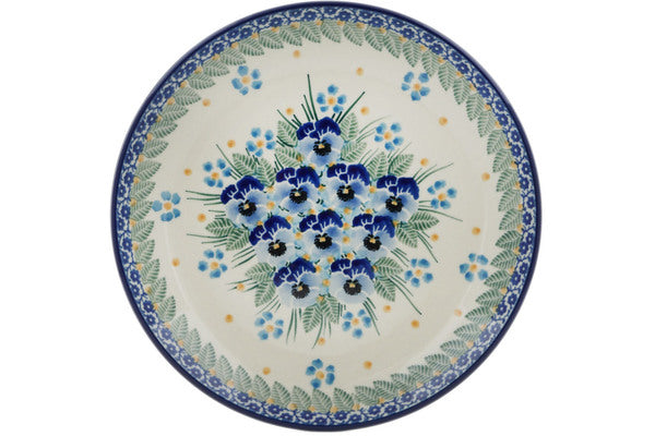 Dessert Plate in Blue Dreams pattern 8""