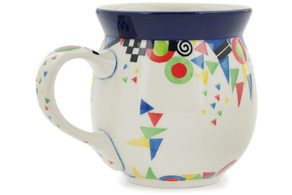 15 oz Bubble Mug - Triangles, Circles and Squares