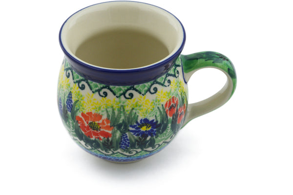 12 oz Bubble Mug - U4610 | Polish Pottery House