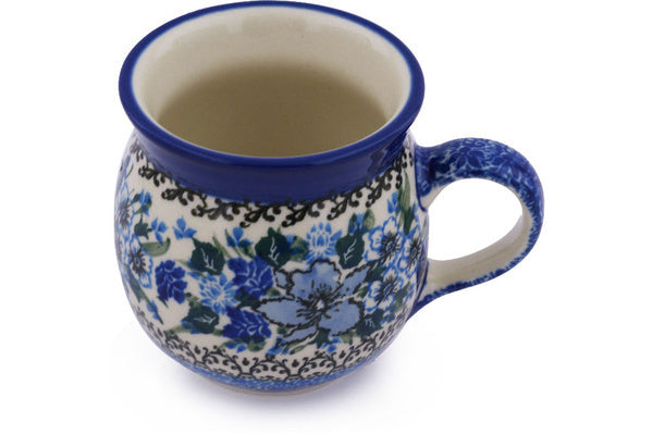 8 oz Bubble Mug - U4421 | Polish Pottery House
