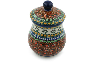 20 oz Canister - Desert Sun | Polish Pottery House