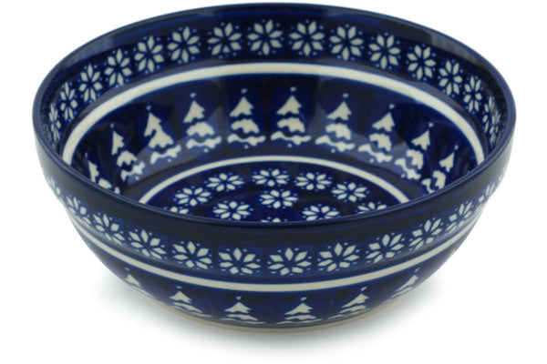 18 oz Cereal Bowl - Winter Frost | Polish Pottery House