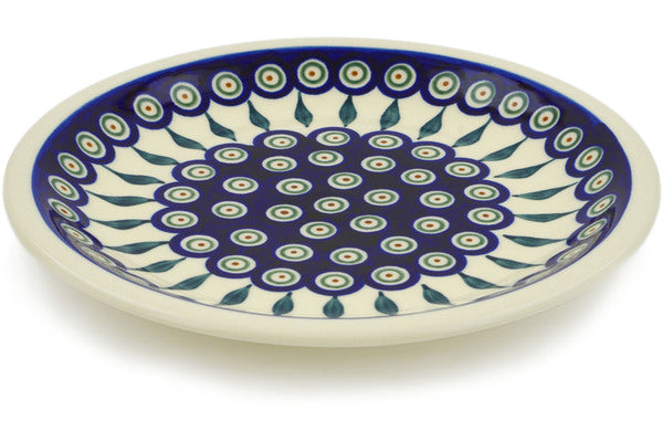 "9"" Luncheon Plate - Peacock 
