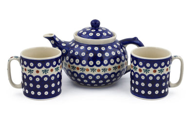 Tea or Coffee Set for Two - Old Poland | Polish Pottery House