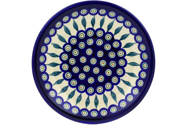 "9"" Luncheon Plate - Blue Peacock 