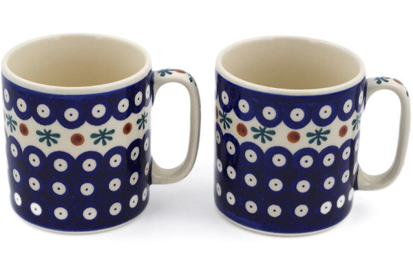 Set of 2 Mugs 11 oz - Old Poland | Polish Pottery House