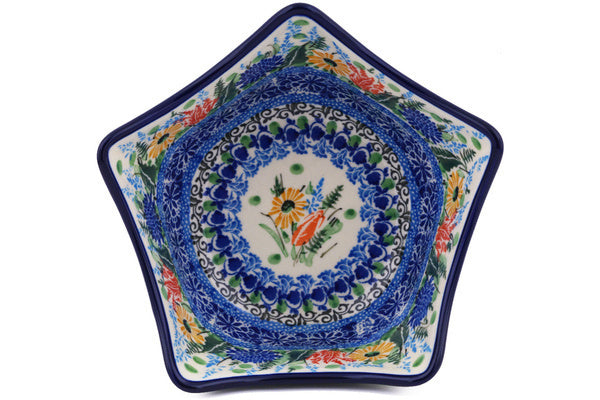 3 cup Serving Bowl - U3998 | Polish Pottery House