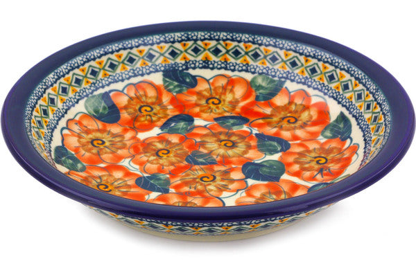 "9"" Pasta Bowl - Coral Blossom 