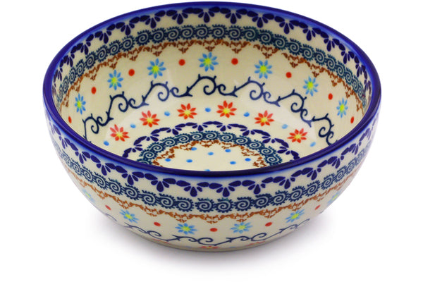 4 cup Serving Bowl - P9325A | Polish Pottery House