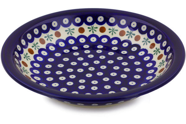 "9"" Pasta Bowl - Blue Old Poland 