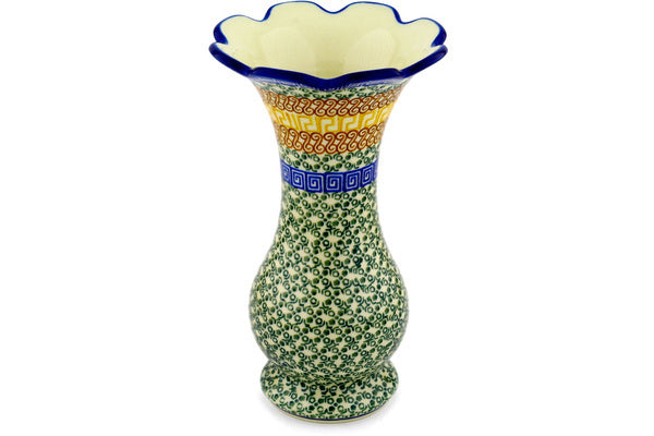 "9"" Vase - Blue Autumn 