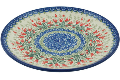 "10"" Luncheon Plate - Crimson Bells 