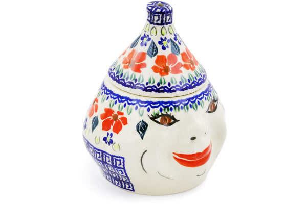 "7"" Garlic Jar - Athens Prairie 
