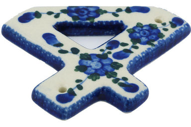 "4"" #4 Hanging Number with hole - 163 