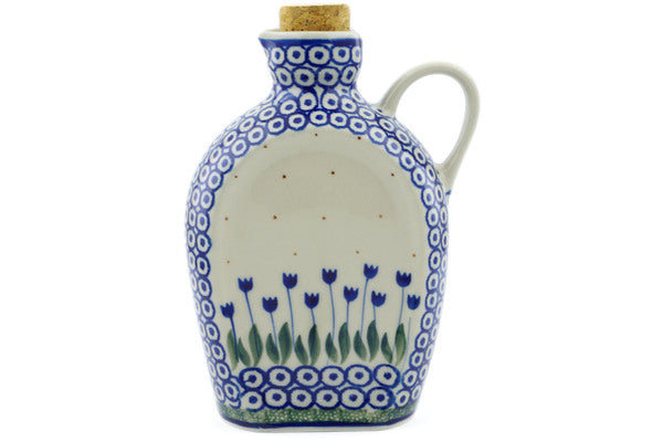 18 oz Bottle - 490A | Polish Pottery House
