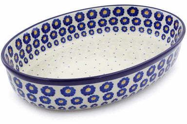 "14"" Oval Baker - P8824A 